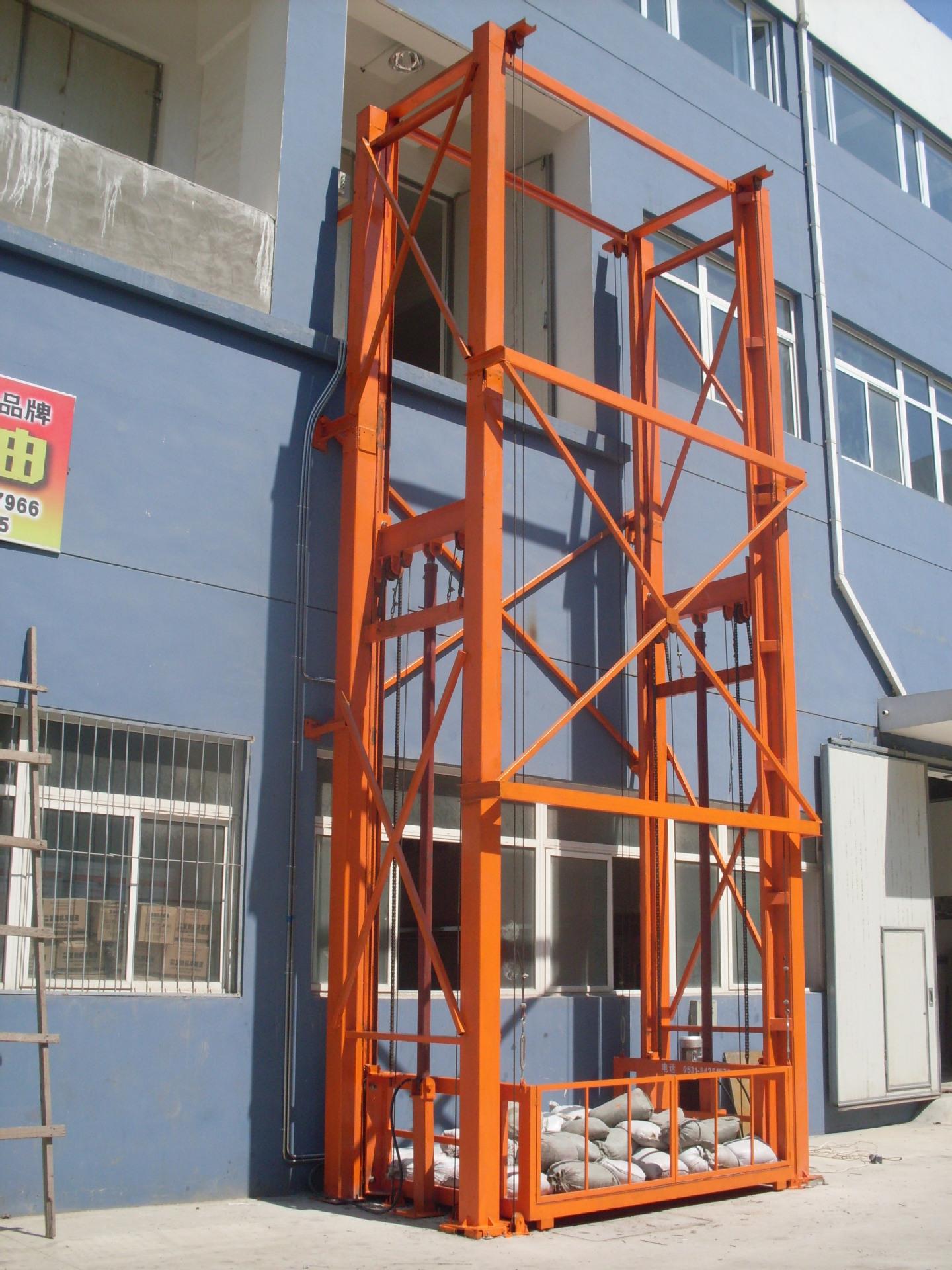 液压升降货梯(根据客户要求特殊定做)