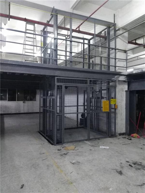 东莞货梯客户案例