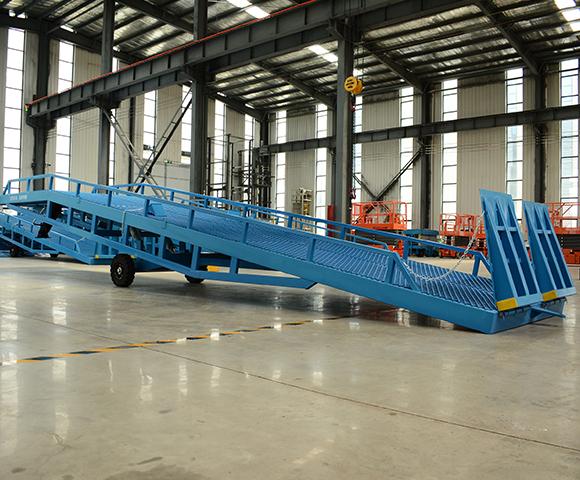 15吨移动式液压登车