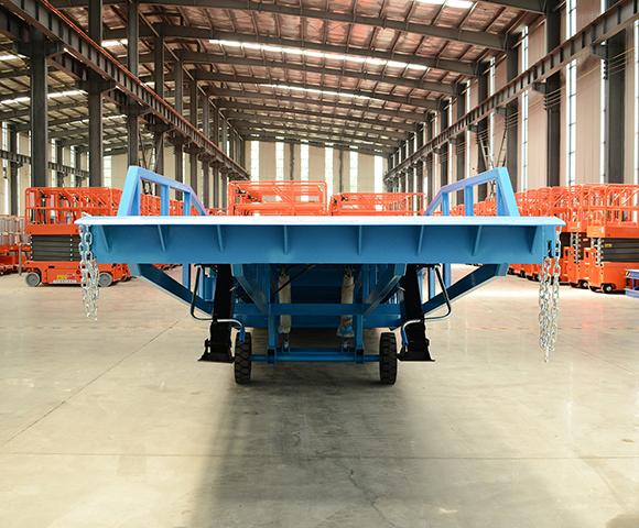 10吨移动式液压登车桥